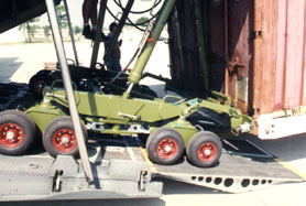 Two Wheel Dolly >> CONTAINER AIRCRAFT LOADING